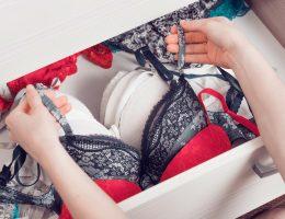 cuidados com a lingerie