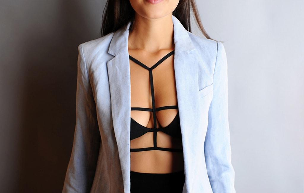 3687ae94b Como usar strappy bra e inovar no look  Veja nossa lista completa!