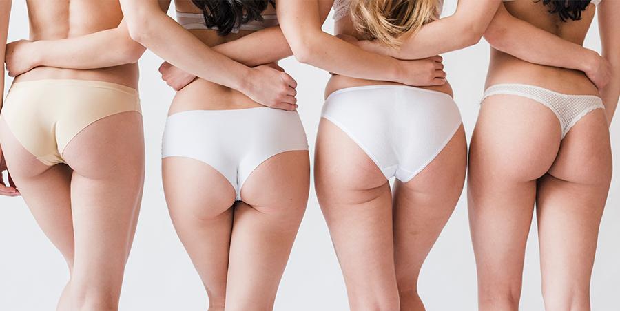 Conheça os tipos de calcinhas ideais para cada corpo