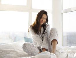 Pijama longo em malha para noites frias sem perder o conforto!