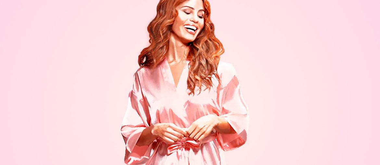 Momentos perfeitos usando Robe Feminino