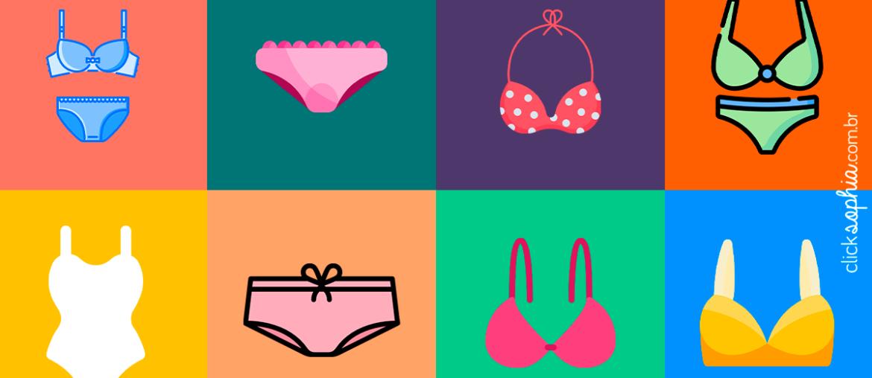 Saiba as cores de lingerie que te deixam mais sexy